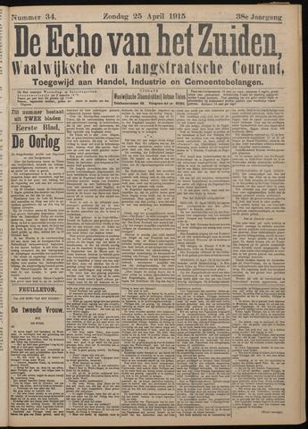 Echo van het Zuiden 1915-04-25