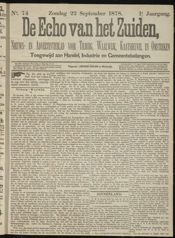 Echo van het Zuiden 1878-09-22