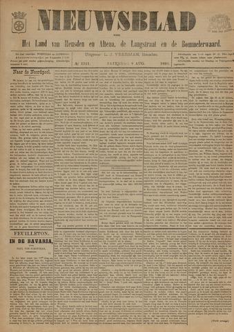 Nieuwsblad het land van Heusden en Altena de Langstraat en de Bommelerwaard 1896-08-08