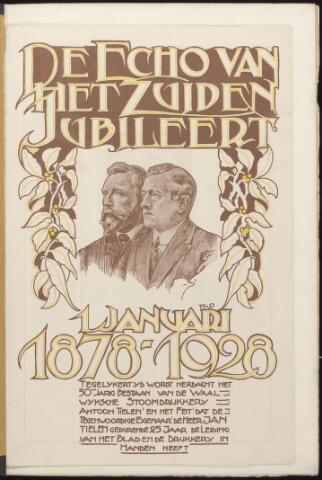 Echo van het Zuiden 1928-01-01