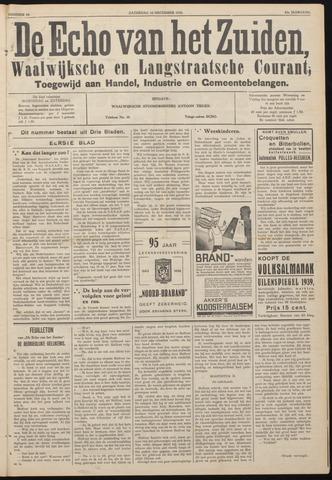 Echo van het Zuiden 1938-12-10