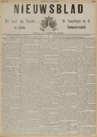Nieuwsblad het land van Heusden en Altena de Langstraat en de Bommelerwaard 1890-04-23