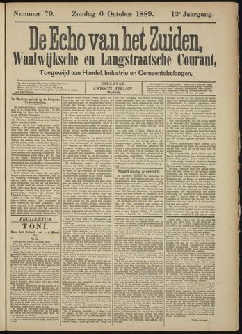 Echo van het Zuiden 1889-10-06