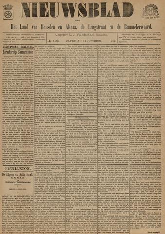 Nieuwsblad het land van Heusden en Altena de Langstraat en de Bommelerwaard 1896-10-24