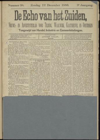 Echo van het Zuiden 1886-12-12