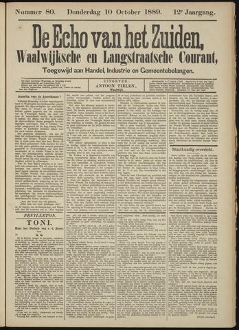 Echo van het Zuiden 1889-10-10
