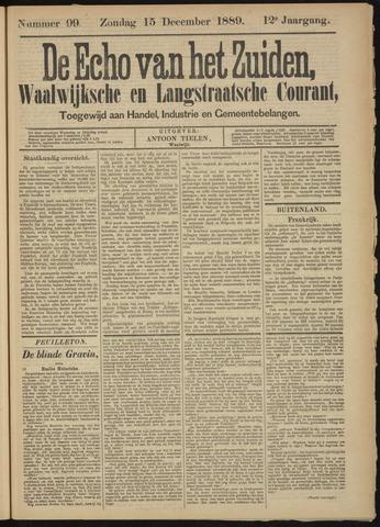 Echo van het Zuiden 1889-12-15