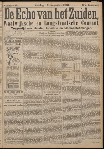 Echo van het Zuiden 1913-08-17