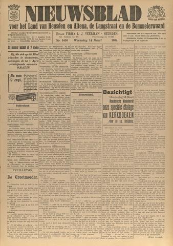 Nieuwsblad het land van Heusden en Altena de Langstraat en de Bommelerwaard 1934-03-14