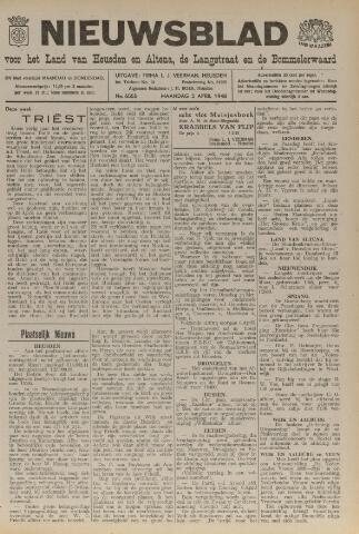 Nieuwsblad het land van Heusden en Altena de Langstraat en de Bommelerwaard 1948-04-05