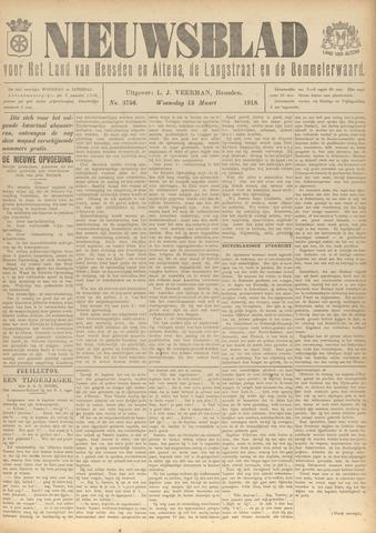 Nieuwsblad het land van Heusden en Altena de Langstraat en de Bommelerwaard 1918-03-13