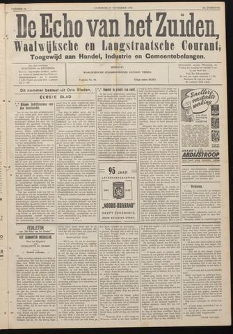 Echo van het Zuiden 1938-11-19