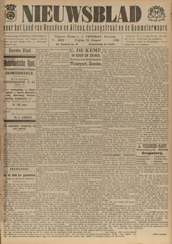 Nieuwsblad het land van Heusden en Altena de Langstraat en de Bommelerwaard 1924-01-11