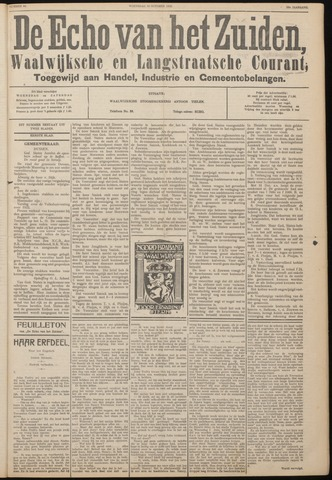 Echo van het Zuiden 1933-10-18