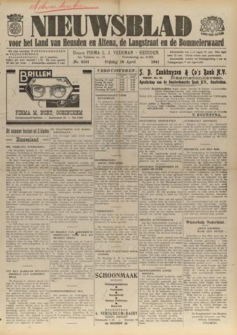 Nieuwsblad het land van Heusden en Altena de Langstraat en de Bommelerwaard 1941-04-18