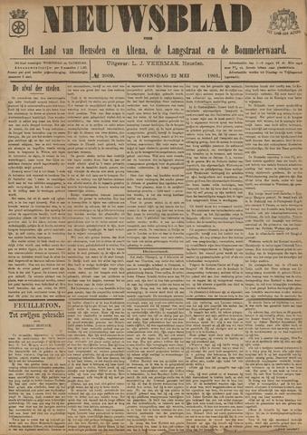 Nieuwsblad het land van Heusden en Altena de Langstraat en de Bommelerwaard 1901-05-22