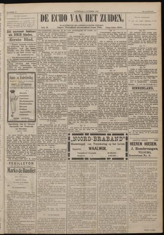 Echo van het Zuiden 1920-10-09