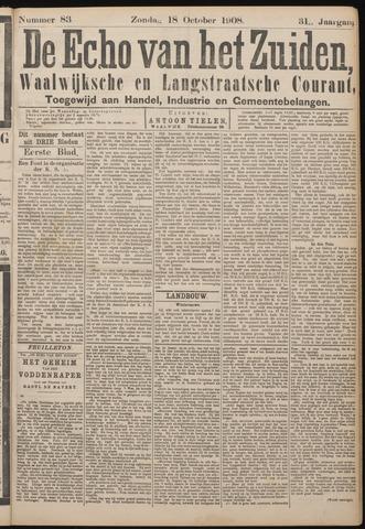 Echo van het Zuiden 1908-10-18