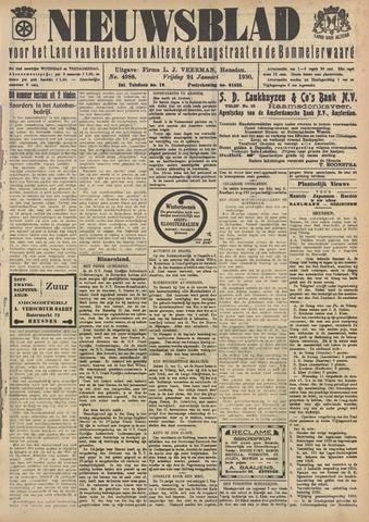 Nieuwsblad het land van Heusden en Altena de Langstraat en de Bommelerwaard 1930-01-24