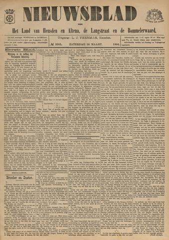 Nieuwsblad het land van Heusden en Altena de Langstraat en de Bommelerwaard 1904-03-26