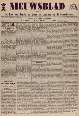 Nieuwsblad het land van Heusden en Altena de Langstraat en de Bommelerwaard 1910-05-28