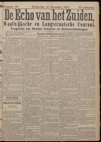 Echo van het Zuiden 1914-12-10