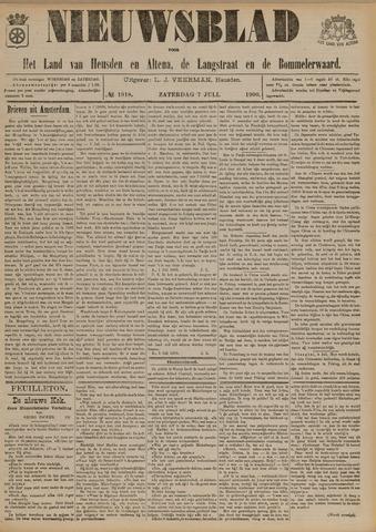 Nieuwsblad het land van Heusden en Altena de Langstraat en de Bommelerwaard 1900-07-07