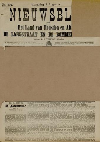Nieuwsblad het land van Heusden en Altena de Langstraat en de Bommelerwaard 1883-08-01