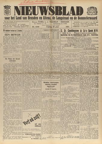 Nieuwsblad het land van Heusden en Altena de Langstraat en de Bommelerwaard 1941-06-20