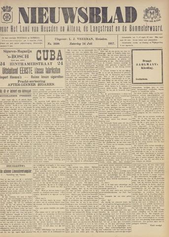 Nieuwsblad het land van Heusden en Altena de Langstraat en de Bommelerwaard 1917-07-14