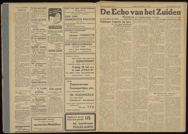 Echo van het Zuiden 1947-07-22