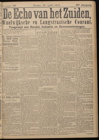 Echo van het Zuiden 1907-04-14