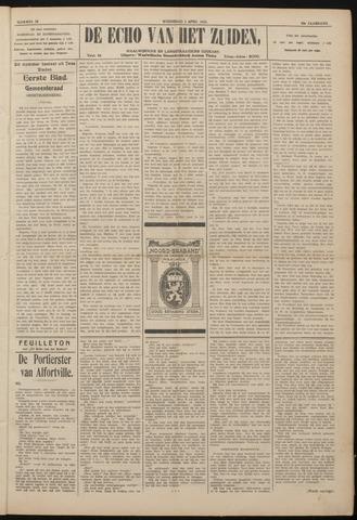 Echo van het Zuiden 1922-04-05