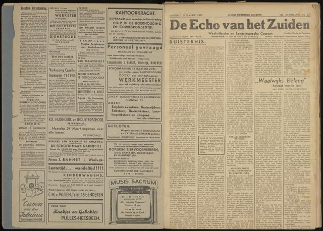 Echo van het Zuiden 1947-03-25