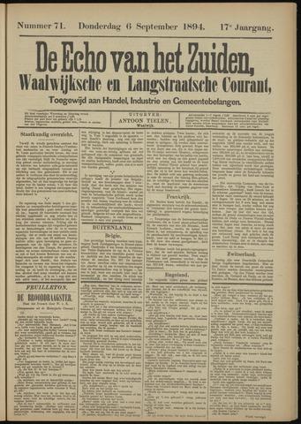 Echo van het Zuiden 1894-09-06