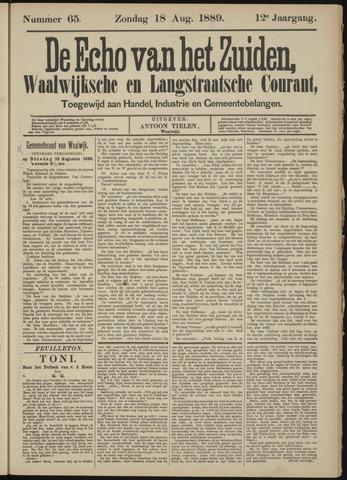 Echo van het Zuiden 1889-08-18