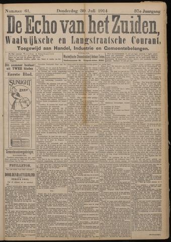Echo van het Zuiden 1914-07-30