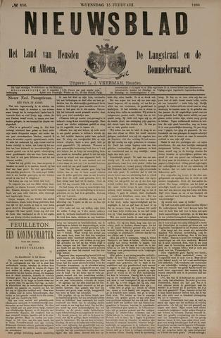 Nieuwsblad het land van Heusden en Altena de Langstraat en de Bommelerwaard 1888-02-15