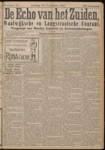 Echo van het Zuiden 1913-11-23