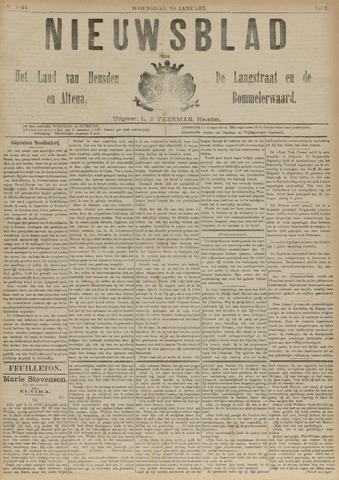 Nieuwsblad het land van Heusden en Altena de Langstraat en de Bommelerwaard 1892-01-20