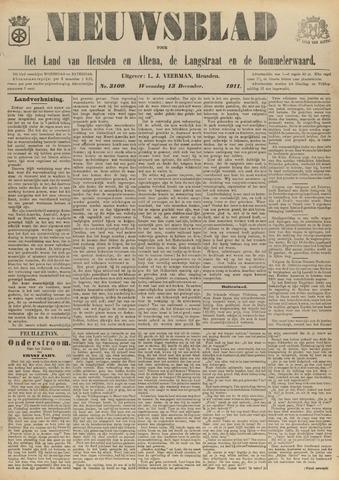 Nieuwsblad het land van Heusden en Altena de Langstraat en de Bommelerwaard 1911-12-13
