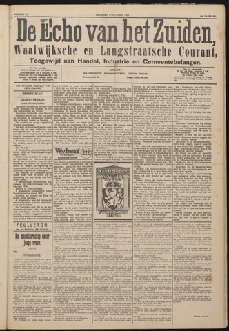 Echo van het Zuiden 1925-10-17
