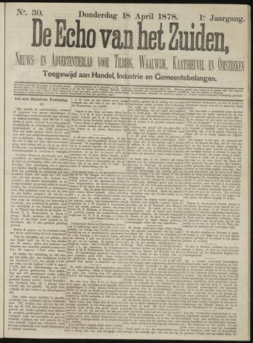 Echo van het Zuiden 1878-04-18