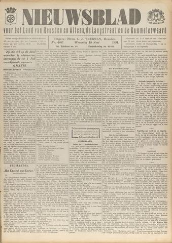 Nieuwsblad het land van Heusden en Altena de Langstraat en de Bommelerwaard 1924-06-18