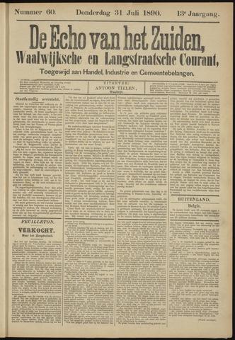 Echo van het Zuiden 1890-07-31
