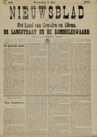 Nieuwsblad het land van Heusden en Altena de Langstraat en de Bommelerwaard 1883-05-02