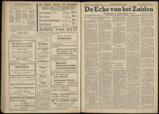 Echo van het Zuiden 1946-10-29