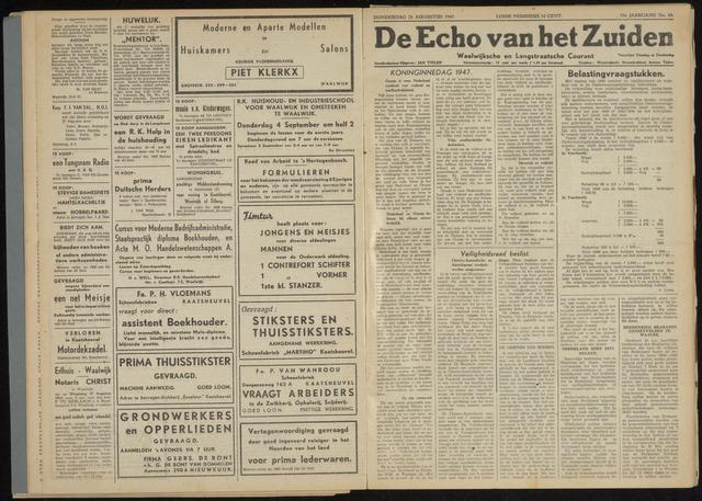 Echo van het Zuiden 1947-08-28