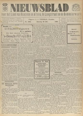 Nieuwsblad het land van Heusden en Altena de Langstraat en de Bommelerwaard 1920-05-22