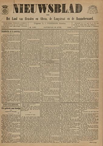 Nieuwsblad het land van Heusden en Altena de Langstraat en de Bommelerwaard 1896-06-20